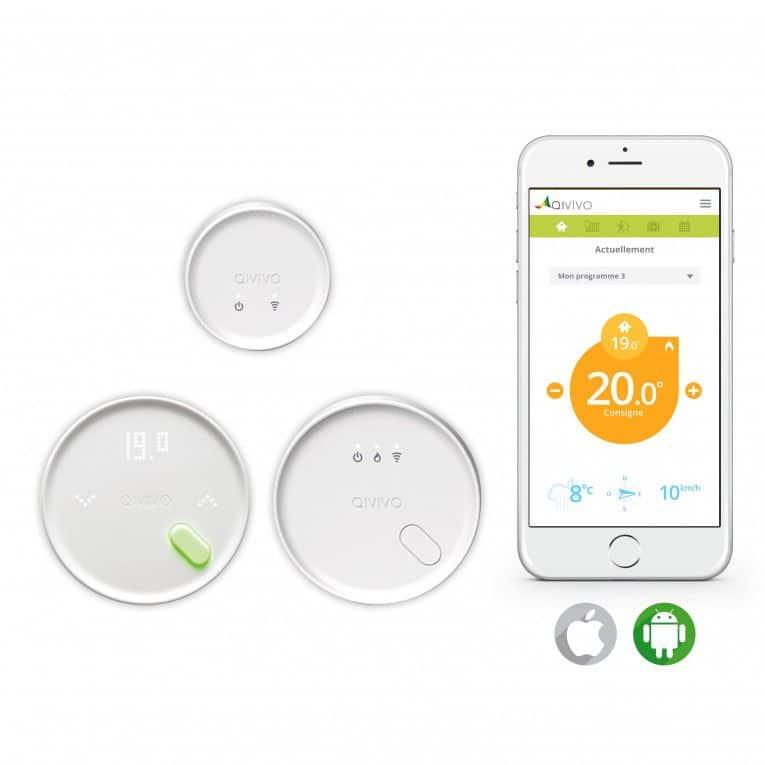 thermostat-qivivo-test-avis design