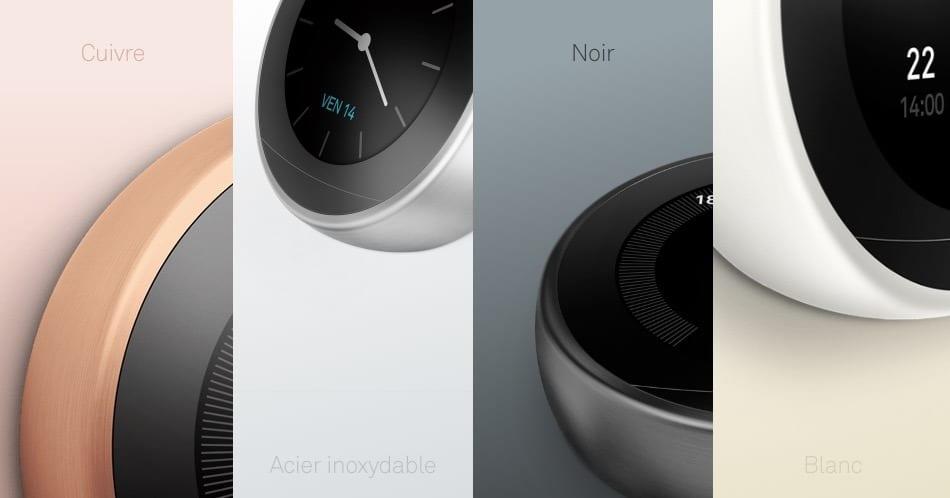thermostat nest 3 couleurs 2018