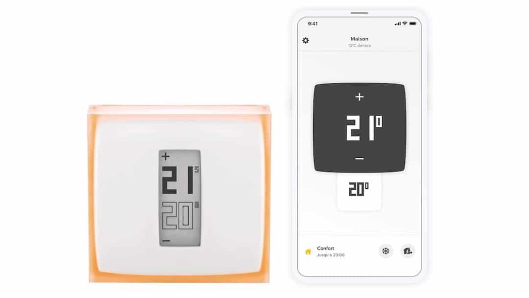 thermostat connecté Netatmo test avis thermostat connecté Netatmo test avis