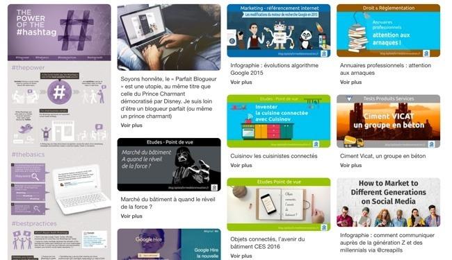 Web design UX design 2017 carte ou design card