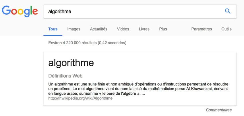 position 0 google extraits optimisés