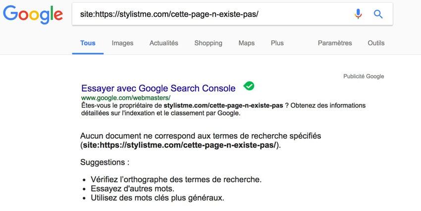 position 0 google commencer par indexer sa page