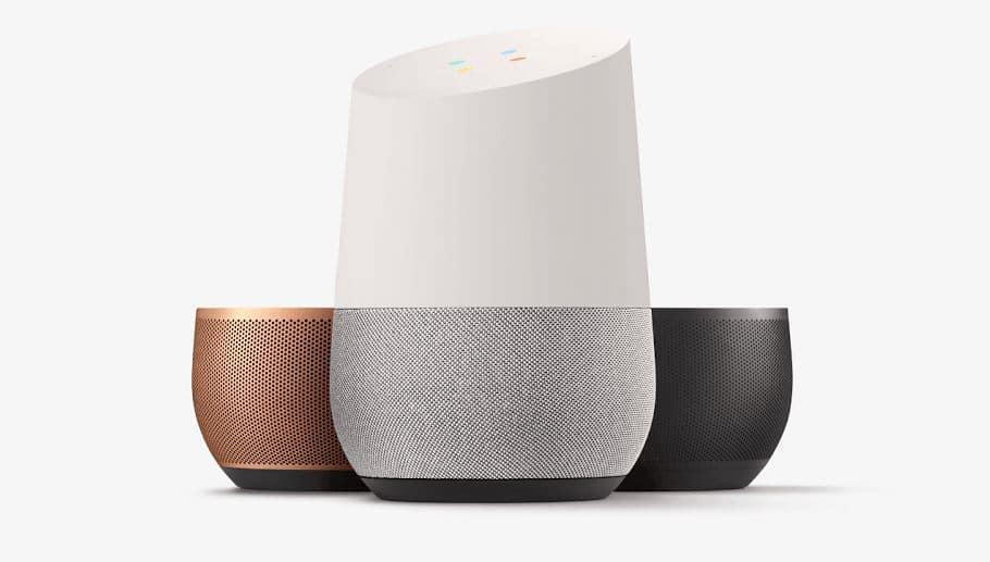 Google Home tous les objets compatibles personnaliser batterie