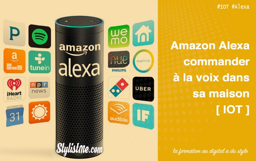 Amazon Alexa France – l'IOT a sa reconnaissance vocale