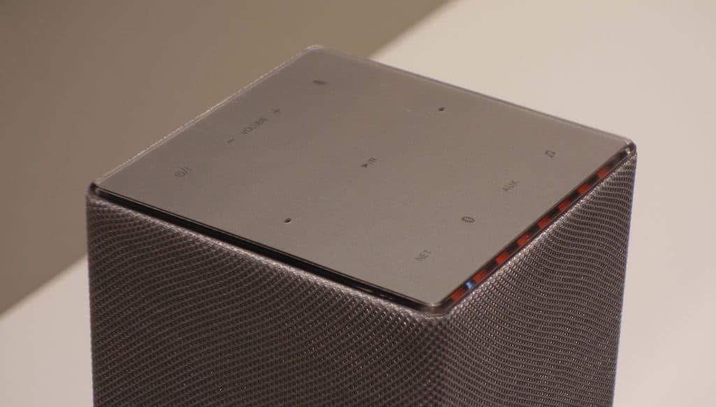Panasonic SC GA 10 enceinte Google Home Assistant écran