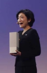 Panasonic SC GA 10 enceinte Google Home taille