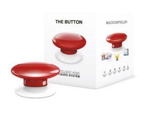 fibaro the button rouge interrupteur conecté sans fil