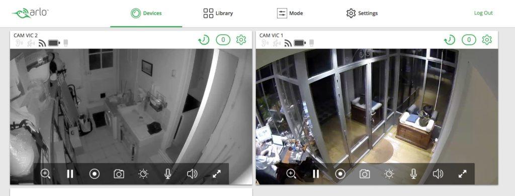 test arlo pro 2 camera intérieur extérieur sécurité sans fil