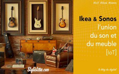 Sonos Ikea le duo pour la musique sans fil dans la maison