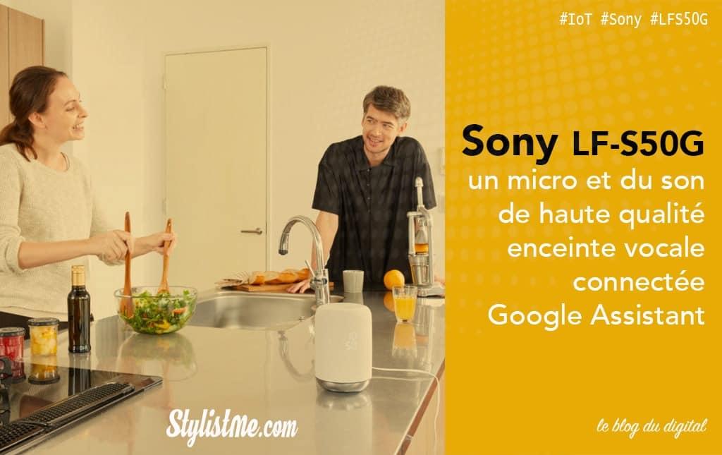 Sony LF-S50G avis test
