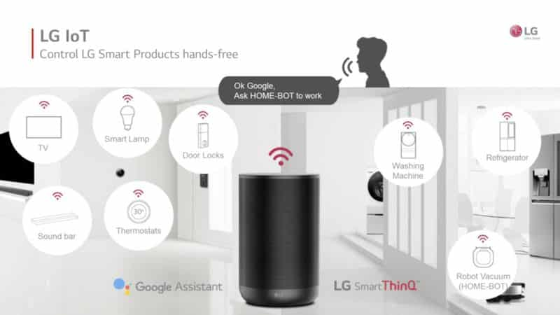 LG ThinQ Speaker test et avis nouvelle enceinte connectée google assistant et amazon alexa