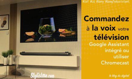Comparatif TV avec Google Home : LG, Sony, Sharp, Samsung, Nvidia, Philips