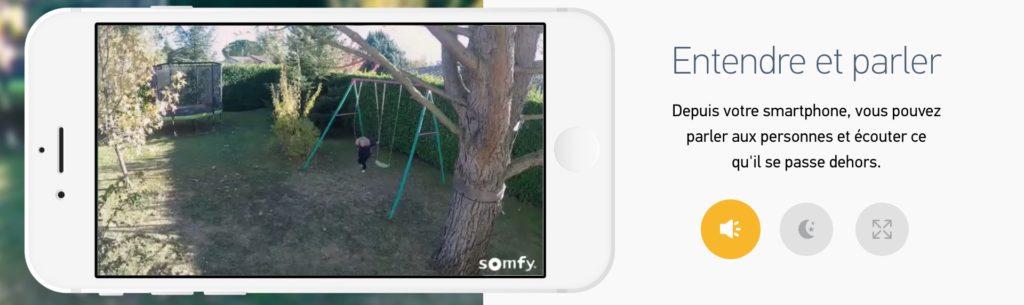 somfy caméra outdoor étanche 1080p