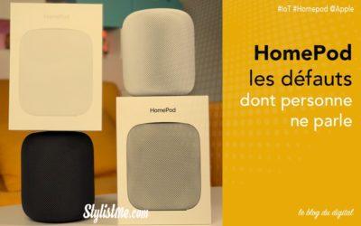 Apple HomePod les défauts dont personne ne parle