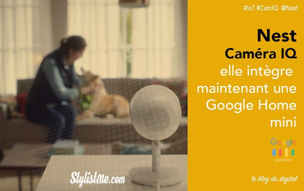 nest cam iq test avis cam ra int rieure ou ext rieure avec google home. Black Bedroom Furniture Sets. Home Design Ideas