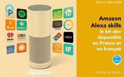 Amazon Alexa skills kit disponible en France pour Amazon Echo