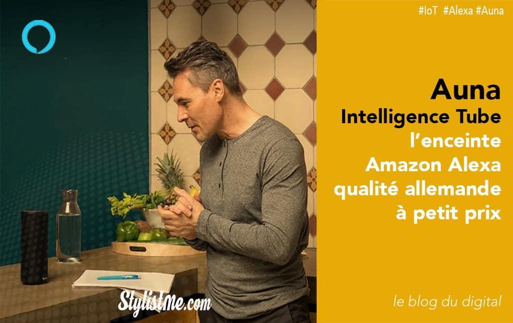 Auna Intelligence Tube test avis Amazon Alexa