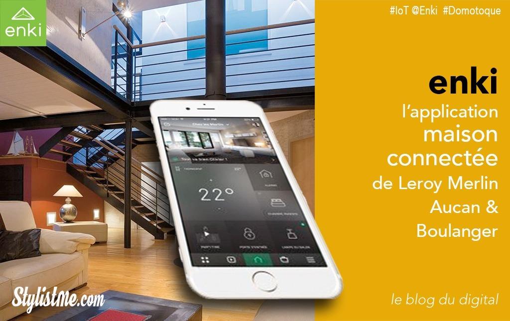Enki la maison connectée selon Leroy Merlin, Auchan et Boulanger