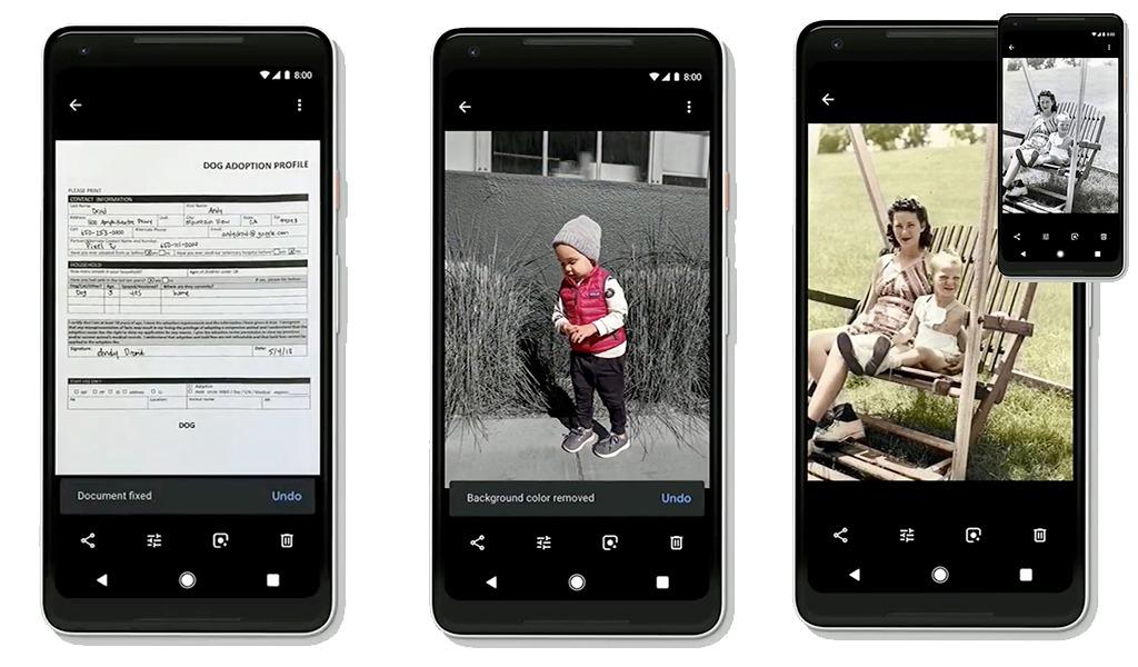 Google I/O 2018 Google IA et Google Photo nouveautés