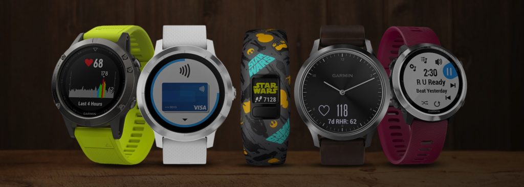 marché des montres connectées 2018 Garmin Apple Fitbit