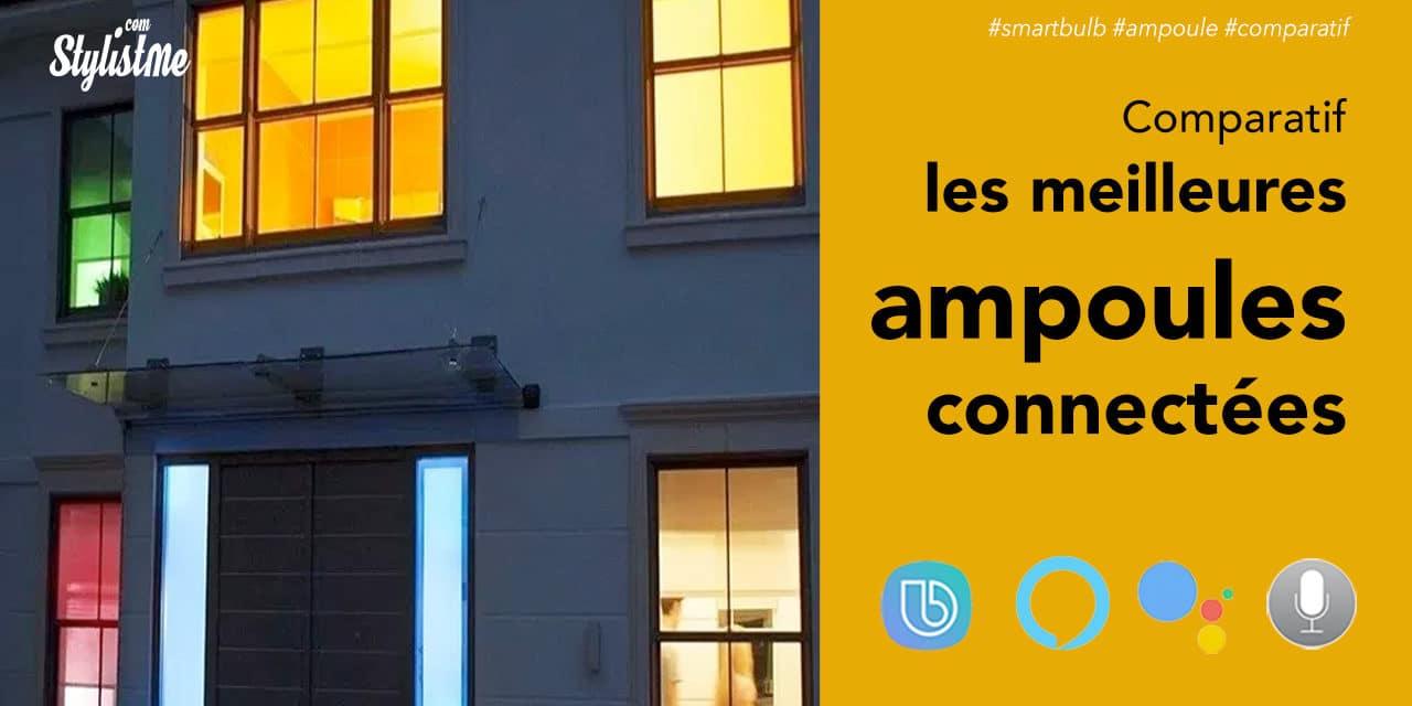 Meilleure ampoule connectée comparatif 2020 et guide d'achat