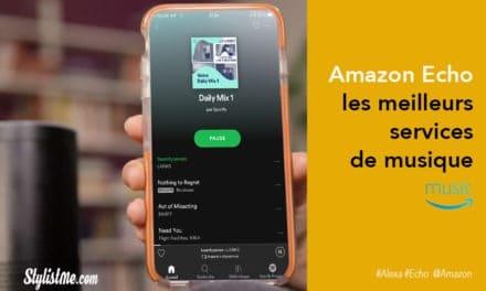 Amazon Echo toutes les sources de musique et radios
