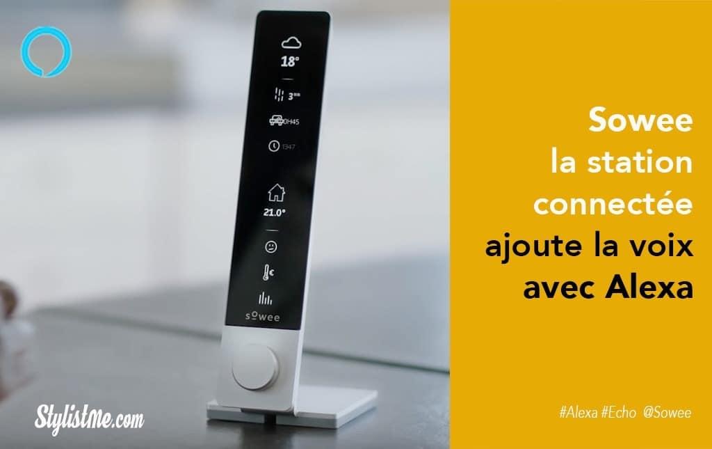 Sowee station connectée Amazon Alexa