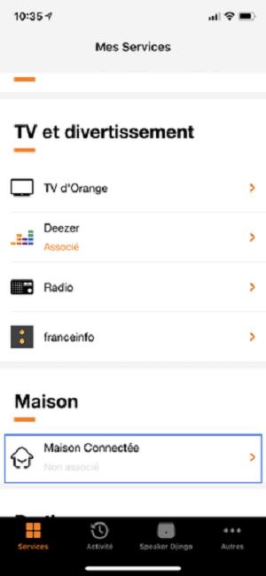 Comment ajouter des services Djingo Deezer Maison connectée Alexa