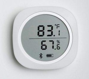 capteur humidité température avec affichage et sonde