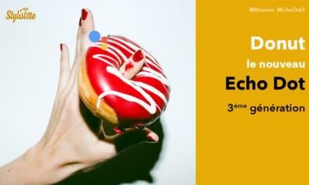 Echo Dot 3ème génération : rumeur ou fuite volontaire d'Amazon autour d'un donut !