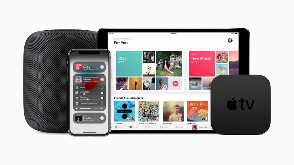 HomePod mise à jour 11.4 multi room stéréo et airplay