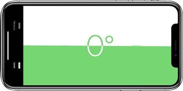 niveau à bulle iphone avec app measure ios12