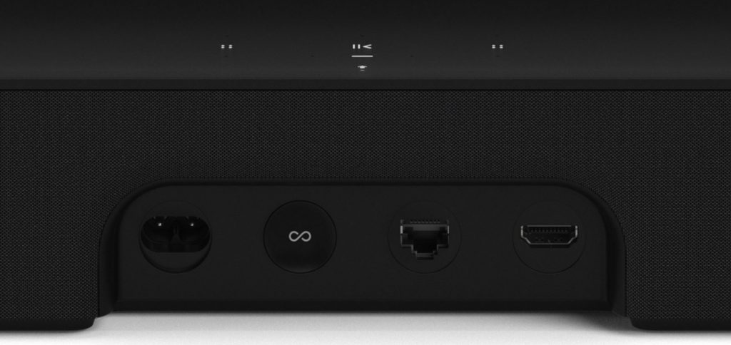 Sonos Beam avec Alexa et AirPlay connectiques