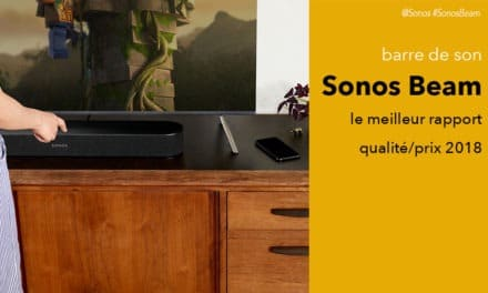 Sonos Beam test avis barre de son avec Alexa Google Assistant et AirPlay