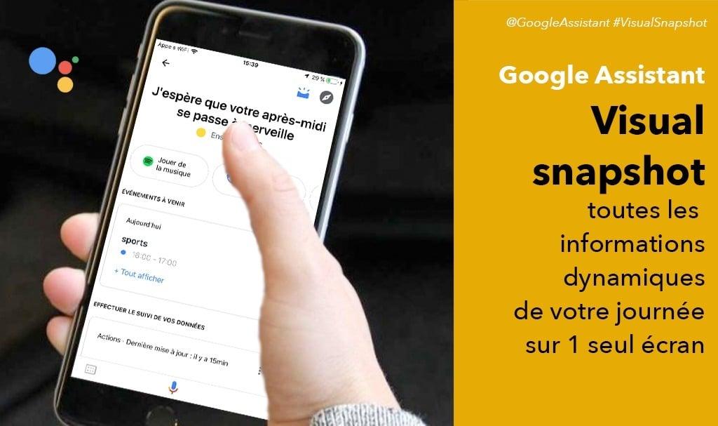 Visual Snapshot Google Assistant