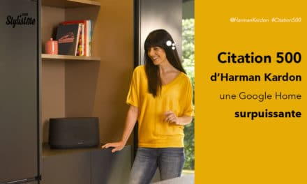 Citation 500 Harman Kardon avis de la Google Home la plus puissante