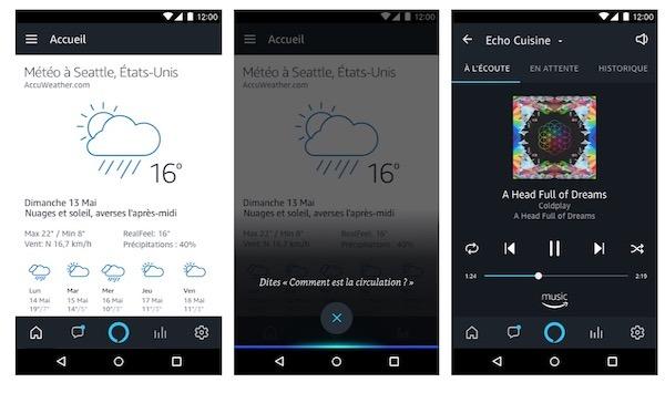 app alexa adroid ancienne version