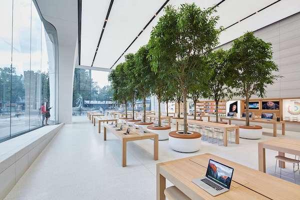 Accessoires bois Apple Watch iPhone iPad AirPods MacBook 100% store design bois