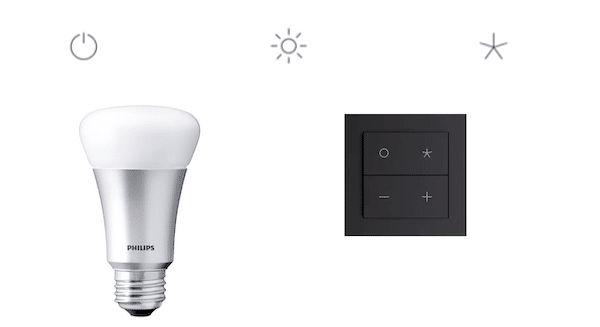 Interrupteur Nuimo Clic compatible Philips Hue