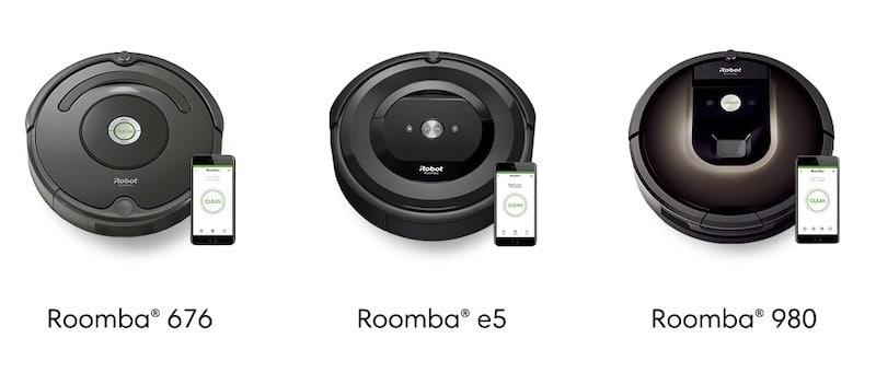 iRobot Roomba Wifi compatible google home et Amazon Echo