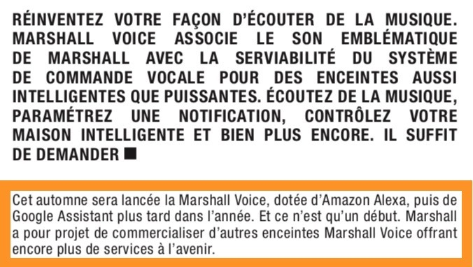 marshall voice google assistant