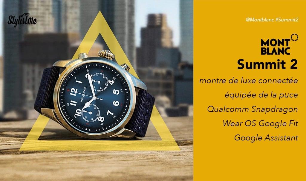 Montblanc Summit 2 avis test de la montre connectée