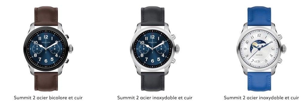Montblanc Summit 2 avis test montre de luxe connectée
