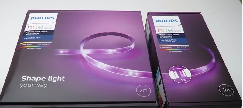 Philips Hue lightstrip plus avis test
