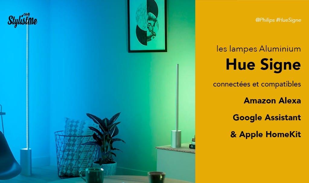 Philips hue signe ambiance avis test des lampes ou appliques connectées