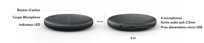 Amazon Echo Input avis test prix caractéristiques