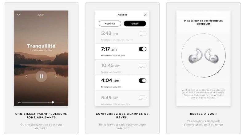 Bose sleepbuds 2 avis test prix app Bose sleep