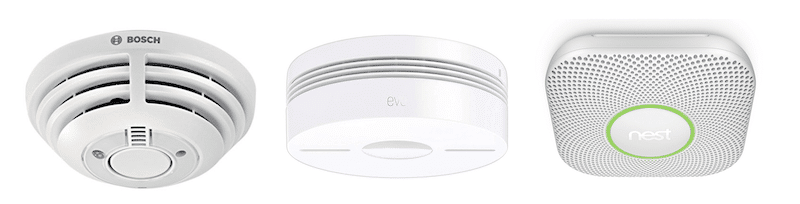 détecteur de fumée connecté comparatif Nest Bosh Eve Netatmo