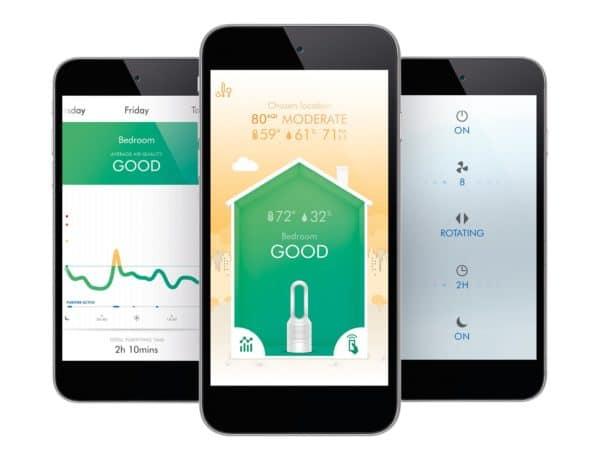 Dyson Pure avis test prix connecte avec app Dyson Lync