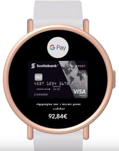 Google Pixel Watch Google Pay